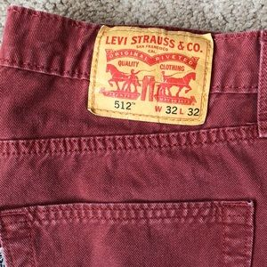 Levi's 512 Jeans W32 L32